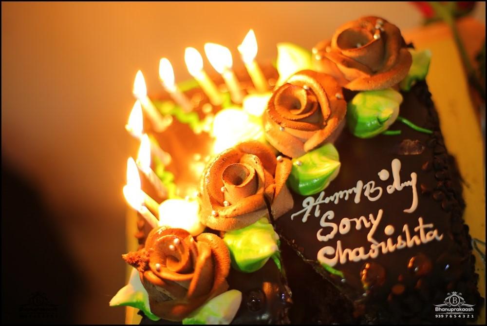 Actress Sony Charishta Birthday Celebrations 2017 Photos