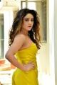 Actress Sony Charishta Hot Photos in Yellow Dress