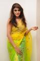 Actress Sony Charishta Hot in Green Yellow Sare Pics