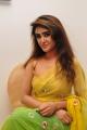 Actress Sony Charishta Hot Pics in Green Yellow Saree