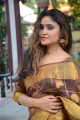 Telugu Heroine Sony Charishta Pattu Saree Photos