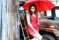 Actress Sony Charishta in Red Dress Photoshoot Stills