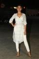 Actress Sony Charishta White Dress Photos
