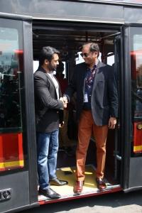 Suriya, Ajay Singh @ Soorarai Pottru Single Track Launch Stills