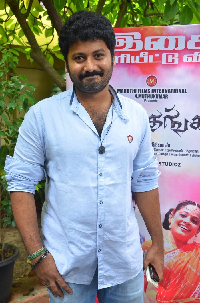 Actor Aravind Vinod @ Thennindian & Soorathengai Audio Launch Photos