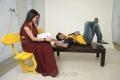 Kavya Singh, Aryaman in Sorry Teacher Movie Hot Stills