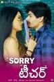 Aaryaman, Kavya Singh in Sorry Teacher Movie Posters