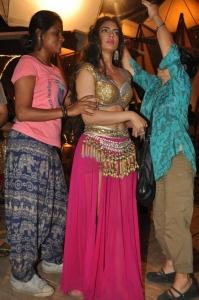 Actress Shweta Bhardwaj @ Soukhyam Item Song Shooting Photos