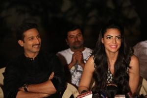 Gopichand, Shweta Bhardwaj @ Soukhyam Movie Press Meet Photos