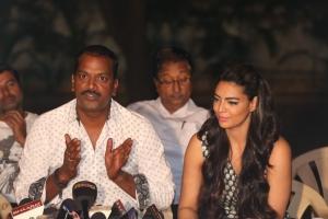 AS Ravi Kumar Chowdary, Shweta Bhardwaj @ Soukhyam Movie Press Meet Photos