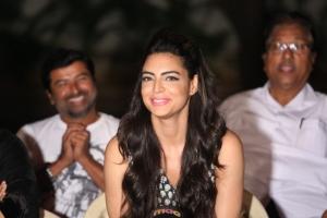 Actress Shweta Bhardwaj @ Soukhyam Movie Press Meet Photos