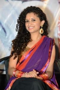 Actress Soumya Sukumar Stills @ Pora Pove Movie Logo Launch