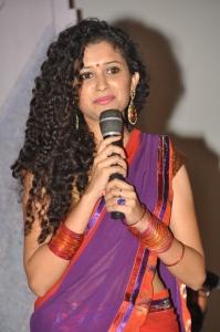 Telugu Actress Soumya Sukumar Stills @ Poora Poove Logo Launch