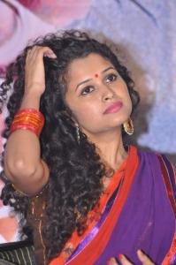 Actress Sowmya Sukumar Stills @ Pora Pove Movie Logo Launch