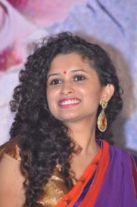 Telugu Actress Sowmya Sukumar Stills @ Pora Pove Logo Launch