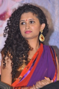 Actress Soumya Sukumar Stills @ Poora Poove Movie Logo Launch