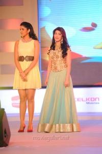 Deeksha Seth, Pranitha at SouthSpin Fashion Awards 2012 Function Stills