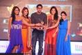 Karthika, Richa, Rana, Deeksha Seth, Ramya at SouthSpin Fashion Awards 2012 Function