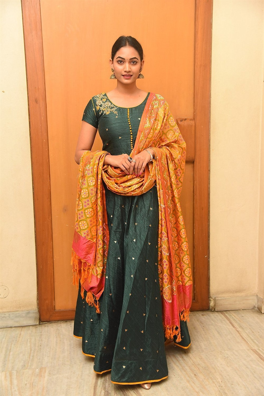 Playback Movie Actress Spandana Palli Photos