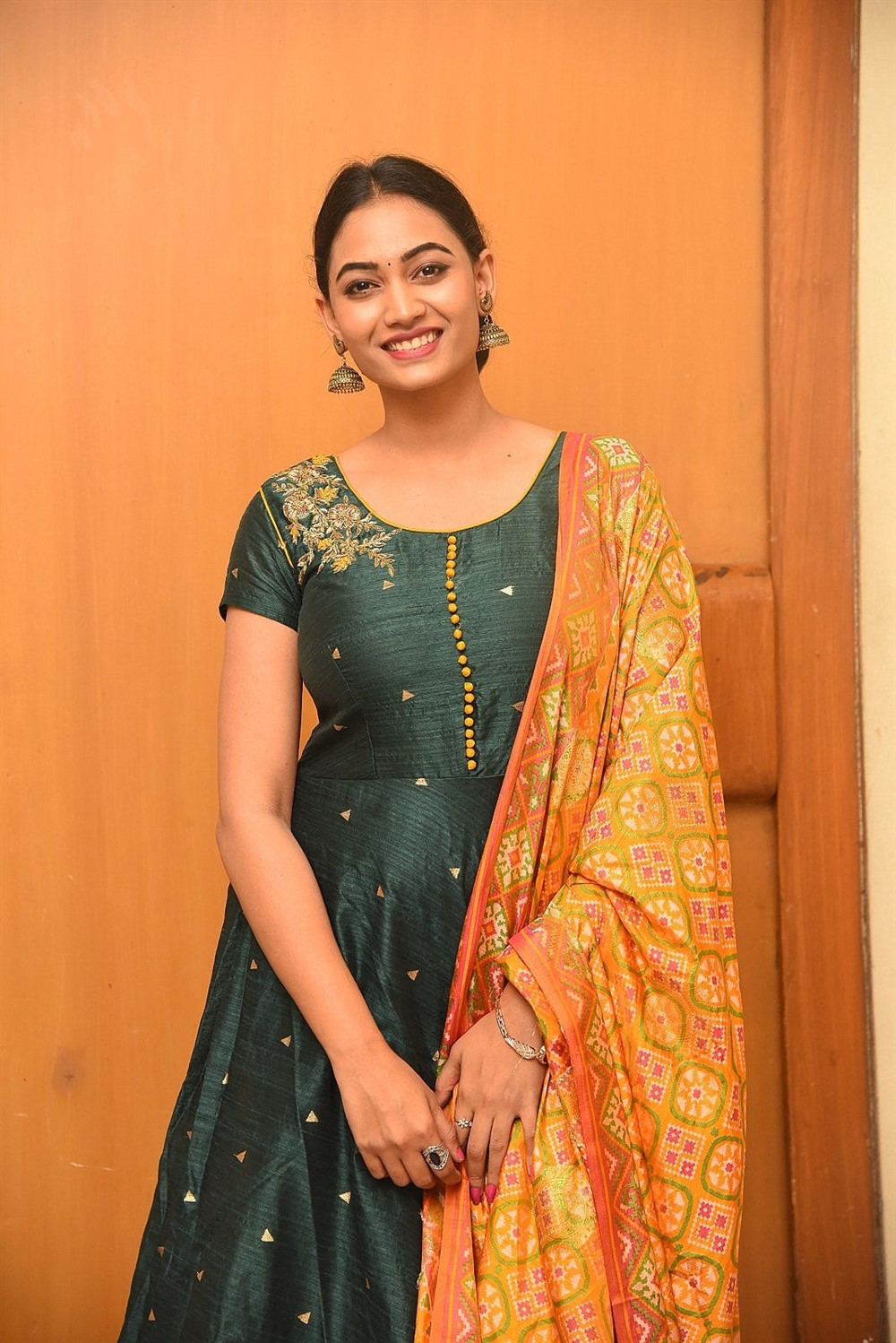 Actress Spandana Palli Photos @ Playback Teaser Launch