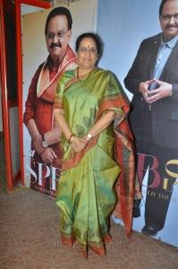 SPB wife Savitri @ SPB 50 Years Completion Thanks Meet Stills