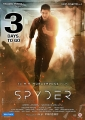 Mahesh Babu Spyder 3 days to go Posters