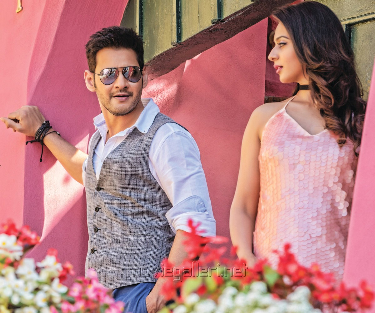 Mahesh Babu, Rakul Preet singh in Spyder Movie HD Photos