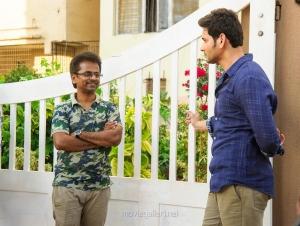 AR Murugadoss, Mahesh Babu @ Spyder Movie Working Stills
