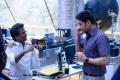Director AR Murugadoss, Actor Mahesh Babu @ Spyder Movie Working Stills
