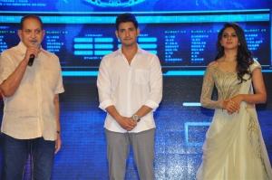 Krishna, Mahesh Babu, Rakul Preet Singh @ Spyder Pre Release Event Stills