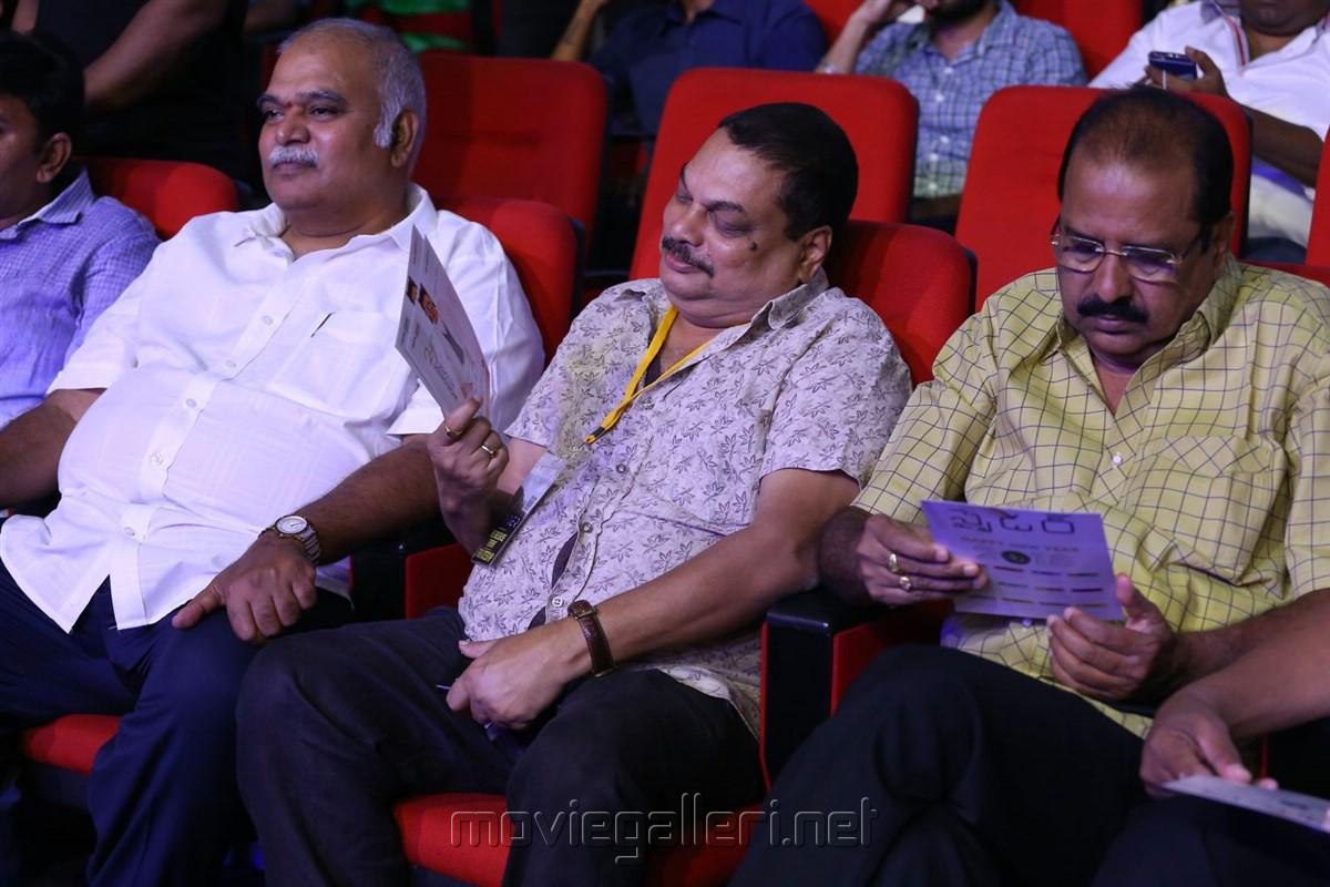 NV Prasad, BA Raju @ Spyder Pre Release Function Photos