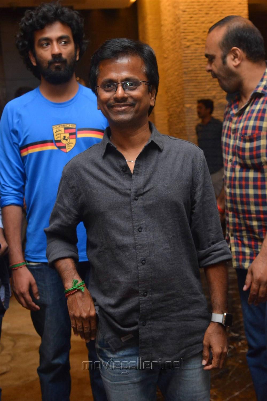 Director AR Murugadoss @ Spyder Press Meet Hyderabad Photos