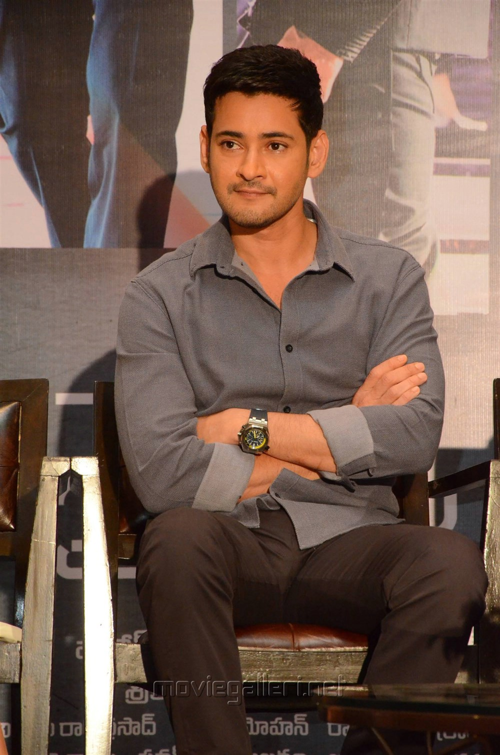 Actor Mahesh Babu @ Spyder Press Meet Hyderabad Photos