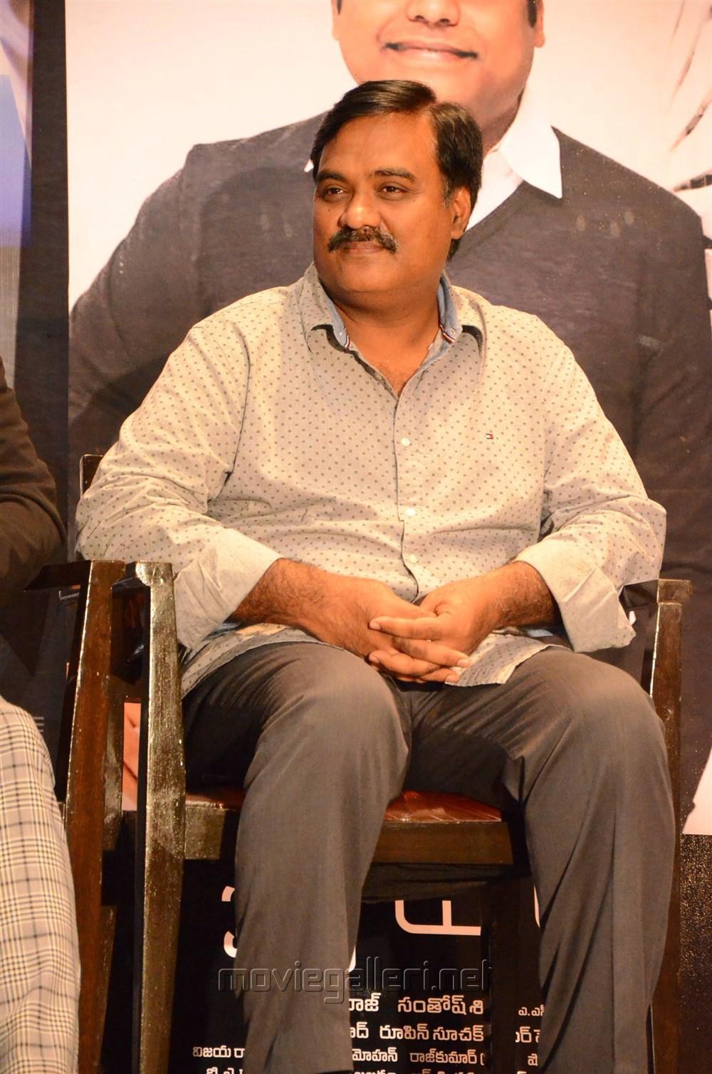 Producer Tagore Madhu @ Spyder Press Meet Hyderabad Photos