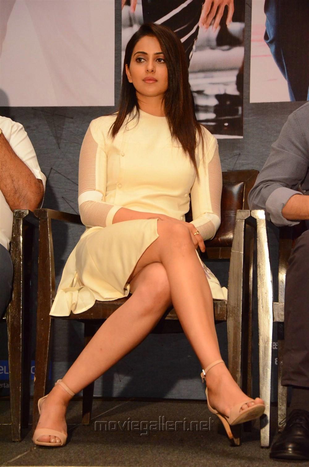 Actress Rakul Preet @ Spyder Press Meet Hyderabad Photos
