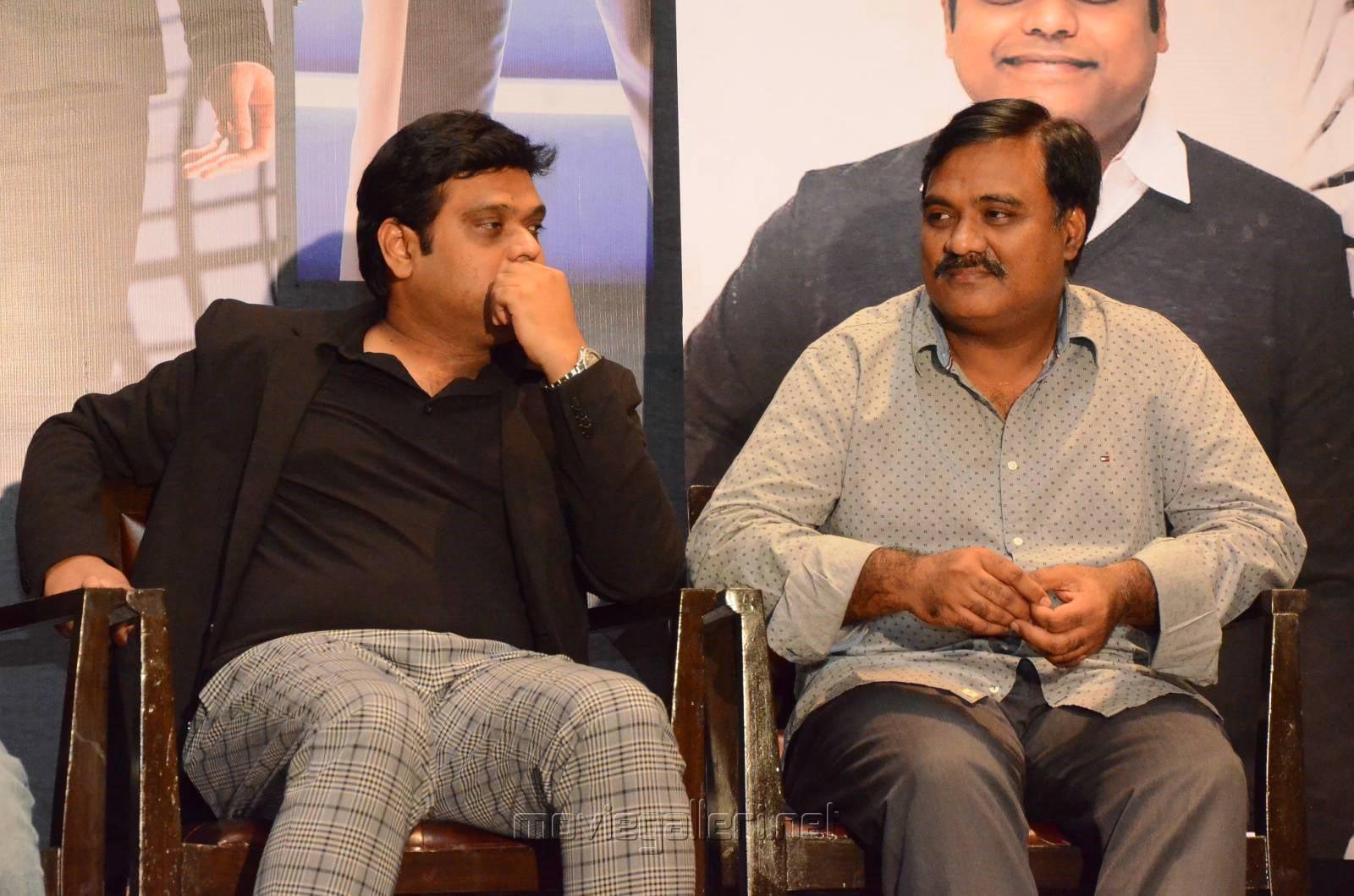 Harris Jayaraj, Tagore Madhu @ Spyder Press Meet Hyderabad Photos