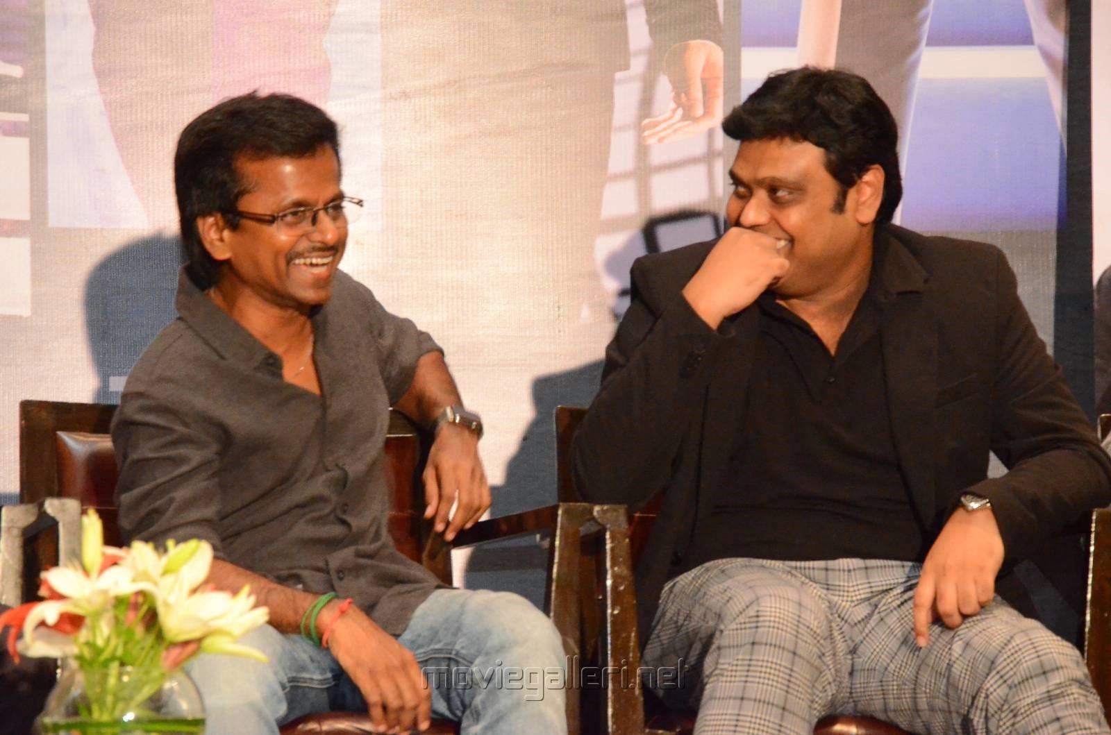 AR Murugadoss, Harris Jayaraj @ Spyder Press Meet Hyderabad Photos