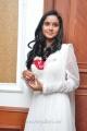 Telugu Heroine Sravani Cute Stills in White Salwar Kameez