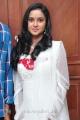 Telugu Actress Sravani Cute Stills in White Churidar