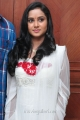 Telugu Actress Sravani Cute Stills in White Salwar Kameez