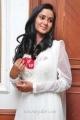 33 Prema Kathalu Heroine Sravani Cute Stills in White Churidar