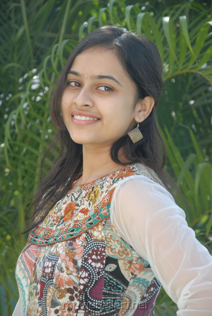 Actress Sri Divya Stills at Bus Stop Success Meet
