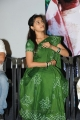 Telugu Heroine Sree Divya in Green Saree Cute Photos