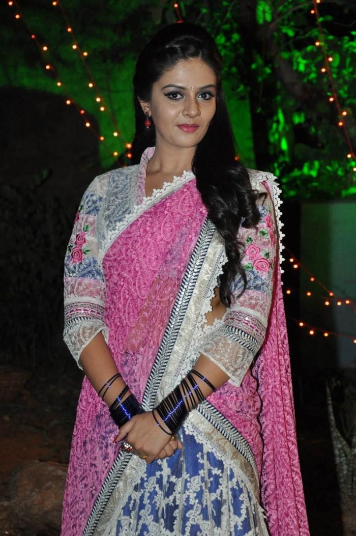 Actress SreeMukhi Photos @ Andhra Pori Audio Release