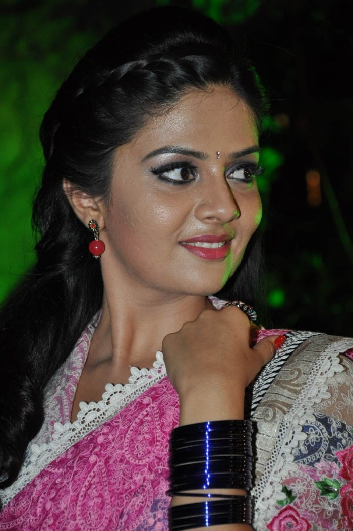Actress Sree Mukhi Photos @ Andhra Pori Audio Launch