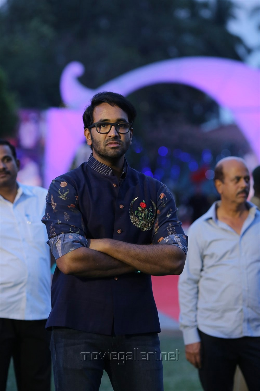 Manchu Vishnu @ Sree Vidyanikethan Annual Day Celebrations 2017 Photos