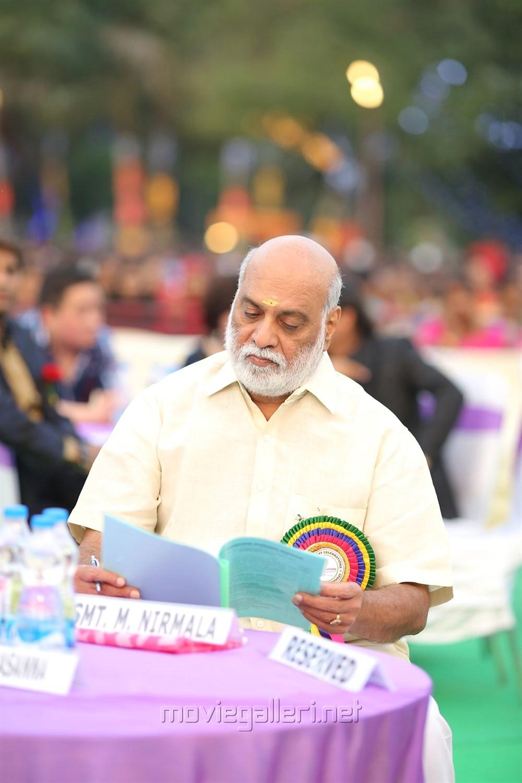 K Raghavendra Rao @ Sree Vidyanikethan Annual Day Celebrations 2017 Photos