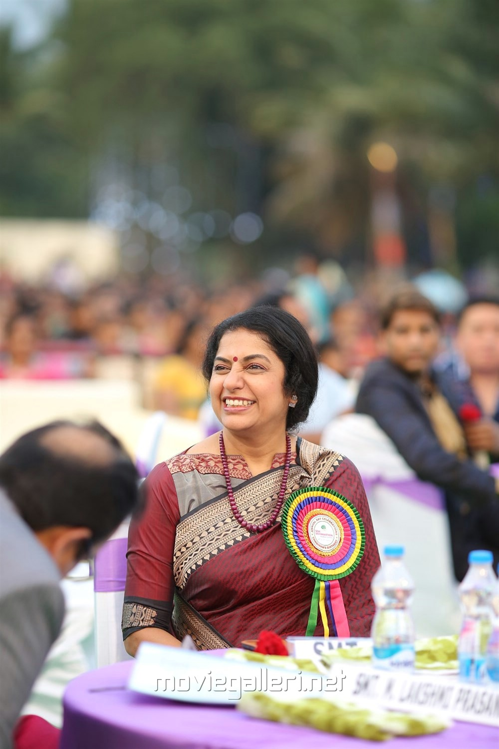 Suhasini Maniratnam @ Sree Vidyanikethan Annual Day Celebrations 2017 Photos