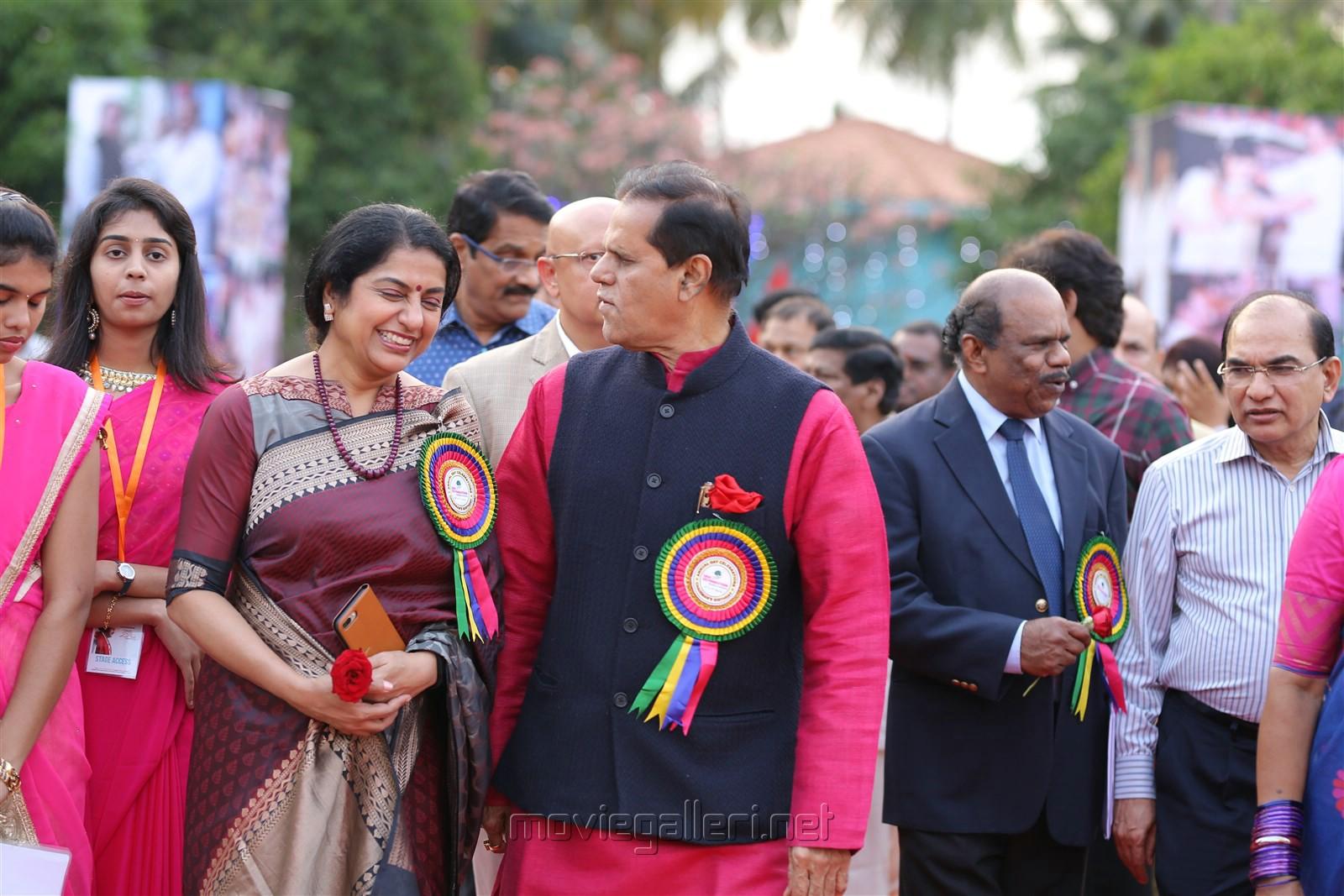 Suhasini Maniratnam, T Subbarami Reddy @ Sree Vidyanikethan Annual Day Celebrations 2017 Photos