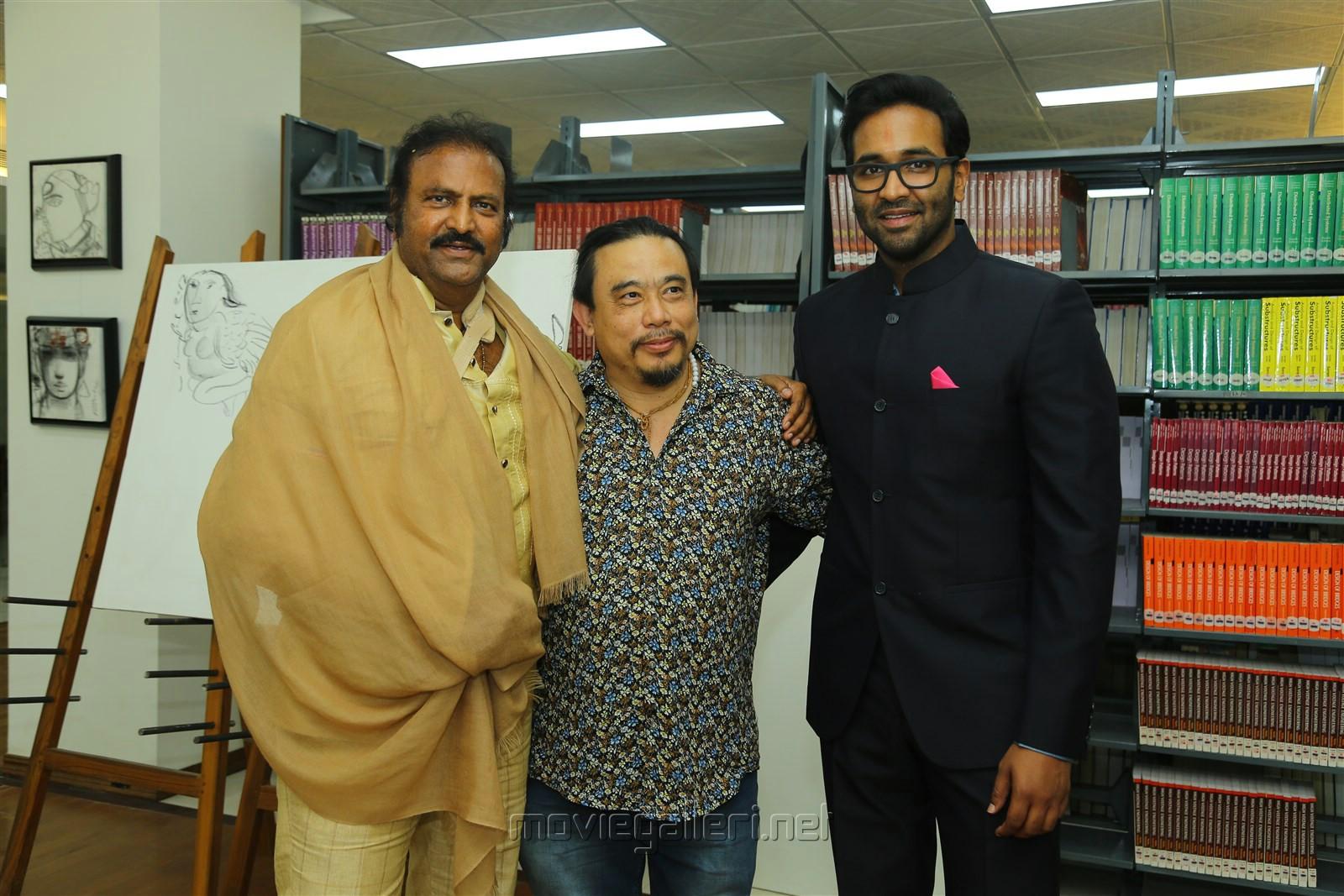 Mohan Babu @ Sree Vidyanikethan Annual Day Celebrations 2017 Photos